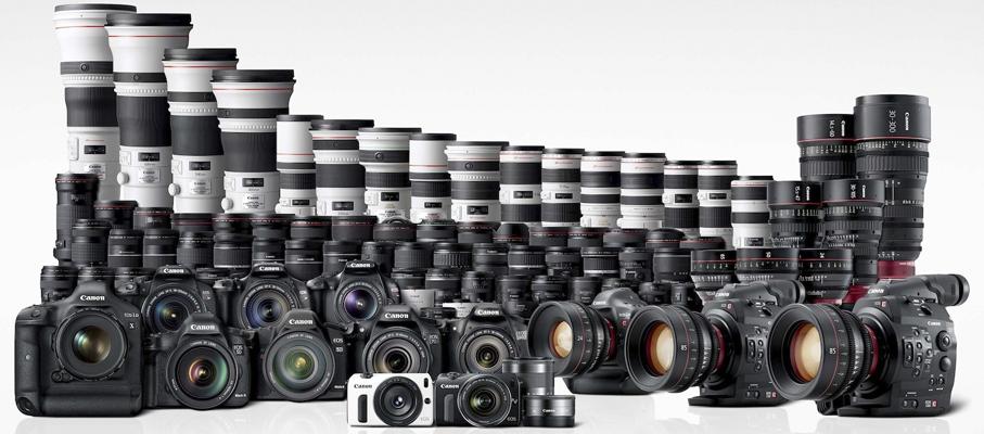 Fotografo įranga