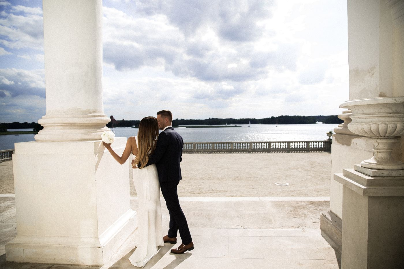 Vestuvių akimirka